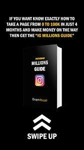 Instagram Millions Guide
