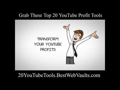 20 Youtube Tools: The Must-Haves for Your Video Strategy of YouTube Marketing in 2021